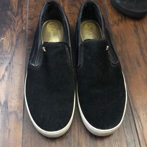 Michael Kors Black SlipOn shoes
